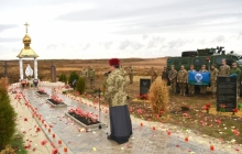 Около Славянска возвели памятник украинцам-героям: на горе Карачун в честь кровавых событий 2014 года поставили мемориальную плиту