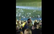 Ляшко станцевал на концерте любительницы Путина Успенской в Киеве - видео