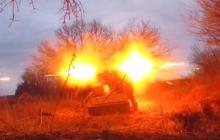 Четкий ракетный удар украинских добровольцев разнес в хлам позиции террористов на Донбассе – взрывные кадры