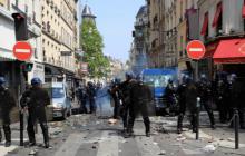 Первомай в Париже: стало известно точное количество раненых и задержанных после бойни в столице - кадры
