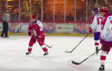 """Видео, как 67-летний Путин в хоккей играл: """"Скорость и сила игрока впечатлили мировых спортсменов"""""""