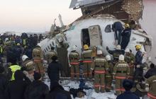 Авиакатастрофа в Казахстане: стало известно, сколько выжило из 100 человек