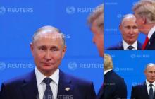 """""""Песков выдает фейковую информацию, Трамп даже """"на ногах"""" не хочет общаться с Путиным"""", - Белый дом"""