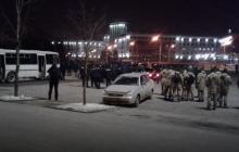 Футбольные страсти: в центре Харькова подрались украинские фанаты с итальянскими – кадры