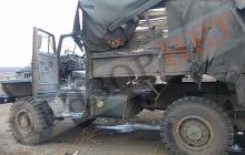 Российские оккупанты из ПТУРа подорвали грузовик ВСУ у Новогнатовки: машина разбита, много раненых