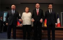 Тот момент, когда Меркель не повезло больше всех: кадры красноречивого финала саммита по Сирии с Путиным