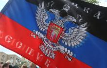 """Флаги """"ДНР"""" возникли в Украине за 7 лет до Майдана: появилось знаковое фото митинга в Донецке"""