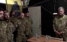 """""""Порошенко не из пугливых"""", - боец """"Азова"""" рассказал о визите президента на передовую"""
