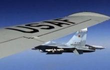 Россия перехватила самолет США возле Крымского полуострова – кадры