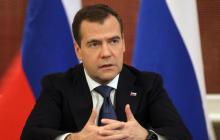 """Медведев резко ответил Лукашенко о втягивании белорусов в """"чужую войну"""""""