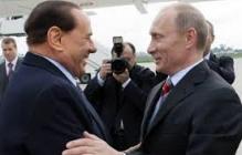 Путин привез в аннексрованный Крым Берлускони