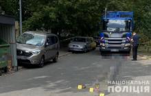 В Киеве водитель мусоровоза устроил смертельное ДТП, сбив мать с ребенком