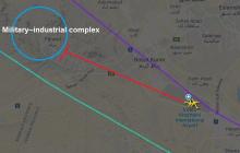 Источник: Украинский авиалайнер мог пролететь возле секретного военного комплекса Ирана