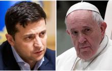 Смена Богдана на Ермака: Зеленский готовится встретится с Папой Римским