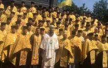 Именно такой и должна быть украинская церковь: священники КП мощно исполнили гимн Украины, - сильное видео