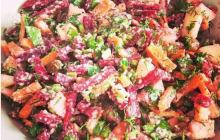 """Рецепт салата """"Метелка"""" с уникальной заправкой для очищения организма и здоровья"""