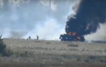 ВСУ из ПТУРа подорвали грузовик с оккупантами под Луганском - у боевиков тяжелейшие потери, много раненых