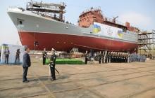 ВМС Украины получили корабль специального назначения - это судно победит любого врага - видео