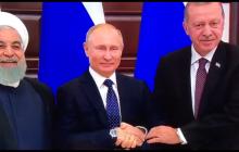 """Фейл Путина на встрече с президентами обсуждают в Сети: глава России """"запутался в руках"""" - видео"""