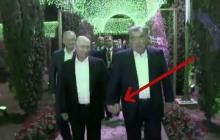 Совет да любовь: Сеть поразило фото Путина, гуляющего за ручку с таджикским лидером Рахмоном