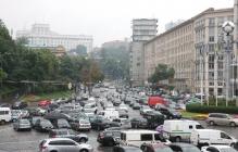 """""""Евробляхеры"""" начали блокировать движение по Киеву и объявили протест по всей Украине – кадры"""
