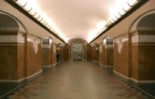 Коммунистическая символика обнаружена на 9 станциях метро Киева