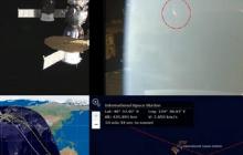"""Гуманоид """"напал"""" на корабль МКС и вывел из строя все оборудование - кадры"""