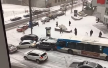 Ролик о масштабной аварии в Канаде стал вирусным буквально за 24 часа