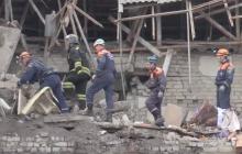 Мощный взрыв под Ростовом - много погибших, дом превратился в руины