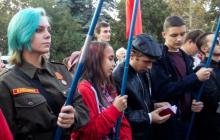 В Севастополе отметили праздник комсомола - украинцев возмутило посвящение детей