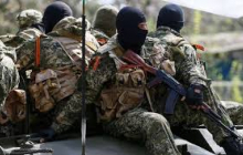 "Бойцы ""Азова"" расстреляли штаб террористов - яркие кадры"