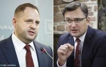 Переговоры по Донбассу: СМИ узнали, куда отправятся Ермак и глава МИД Кулеба