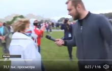 В Беларуси накинулись на журналиста госТВ и чуть не избили: появилось видео из Минска