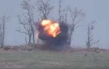 """Бойцы """"Донбасса"""" разнесли позицию оккупанта, мощный взрыв сжег все дотла - это нужно видеть"""