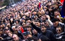 """""""Блокируются автодороги, аэропорт и железная дорога"""": Пашинян объявил о тотальной забастовке в Армении - кадры"""