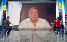 """Грымчак и ведущий канала """"НАШ"""" Назаров устроили перебранку в прямом эфире: """"Да иди ты сам куда-нибудь!"""""""