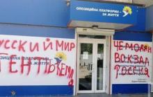 Родной город Зеленского Кривой Рог показал Медведчуку и его партии их реальное место: кадры