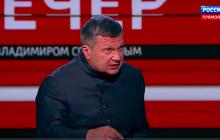Пропагандист Соловьев сорвался и собрался на танке в Харьков из-за сноса памятника Жукову