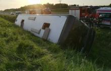 Автобус с гражданами Украины из Черновцов упал в ров в Польше: что известно о ДТП
