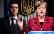 Зеленский провел переговоры с Меркель - детали разговора