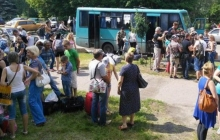 Жители Донецка: Эвакуация – ложь и постановка, нас никуда не вывозят