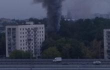 На западе Москвы загорелся жилой дом – есть пострадавшие