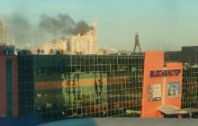 В Киеве масштабным пламенем объята многоэтажка: горят десятки этажей - кадры