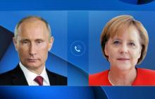 Путин и Меркель обсудили Донбасс – в Кремле сделали неприятное для Киева заявление