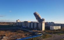Масштаб ядерного взрыва: под Петербургом в Гатчине произошло ЧП, все пылает, есть погибшие - кадры