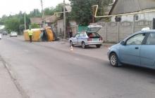 Подробности громкого ДТП в Буденновском районе Донецка: автобус с детьми слетел с дороги и перевернулся