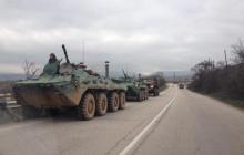 АТЦ: В Амвросиевку зашла военная техника