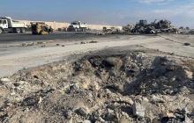 """""""Все разрушено, вокруг большие воронки"""", - появились фото и видео последствий удара Ирана по базе США в Ираке"""