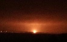В российском Задонске взорван газопровод: взрыв видно на десятки километров от места происшествия - кадры