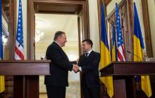 Помпео в Киеве: три ключевых детали визита госсекретаря США в Украину